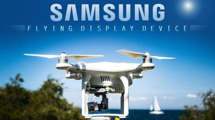 Samsung Flying Display Device